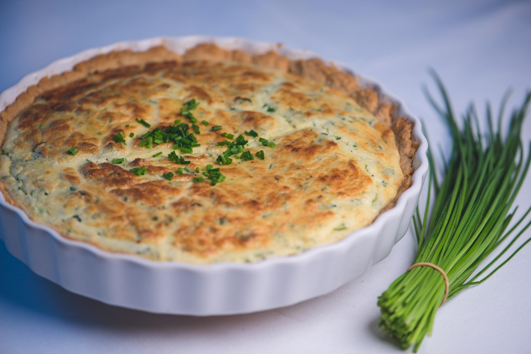 Kräuter-Käse-Tarte