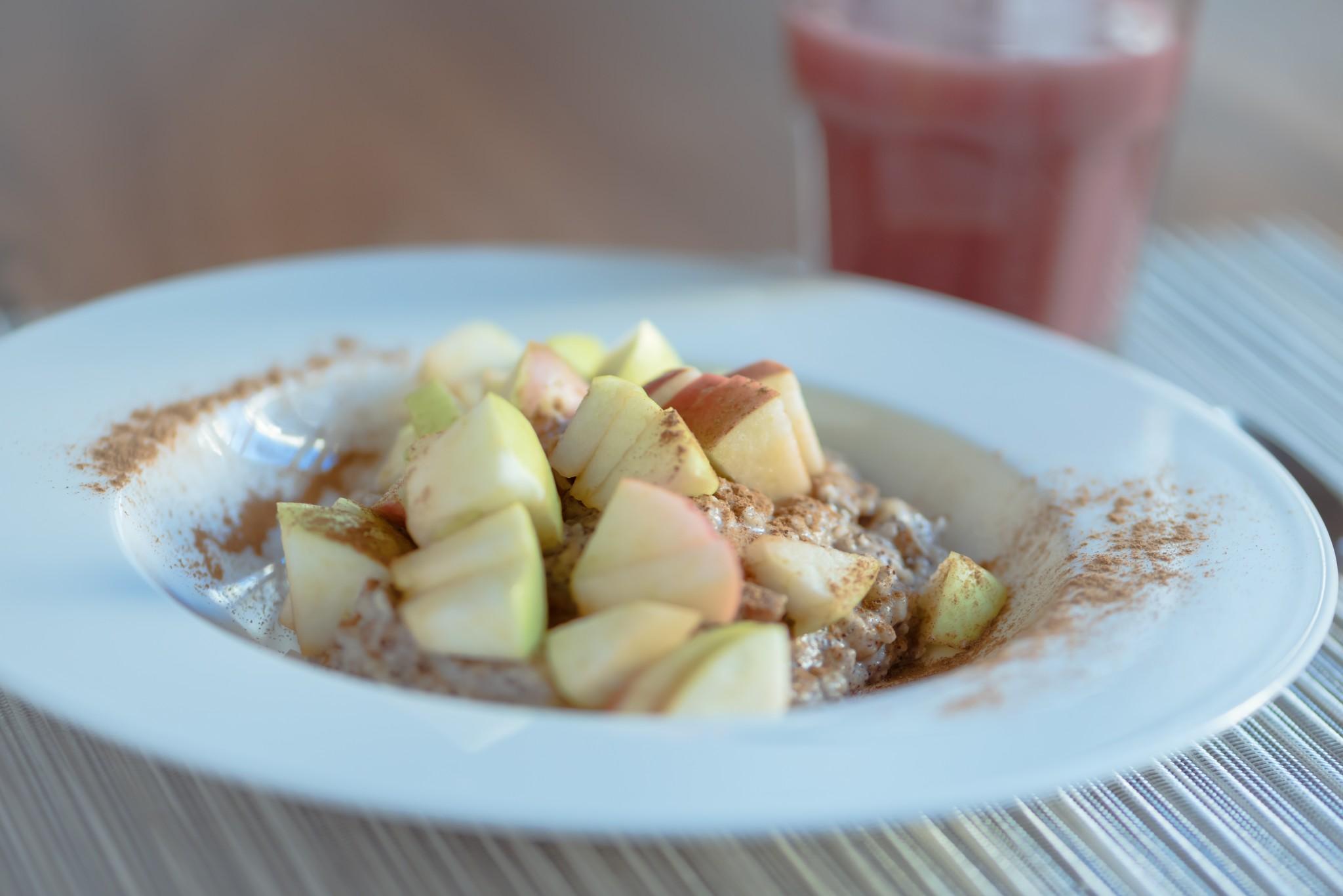 Nuss-Mohn-Porridge