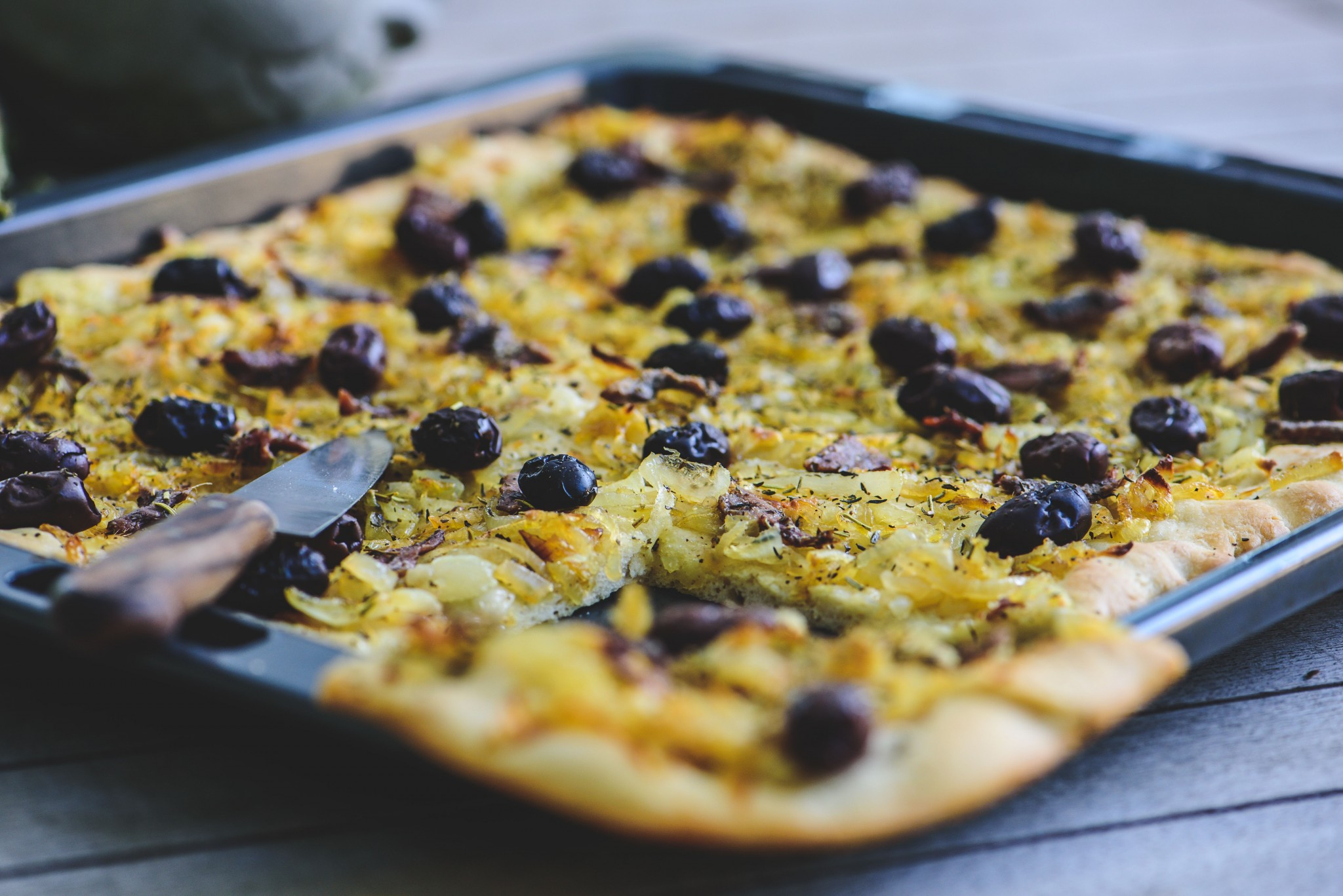 Pissaladiére  – Pizza aus der Provence