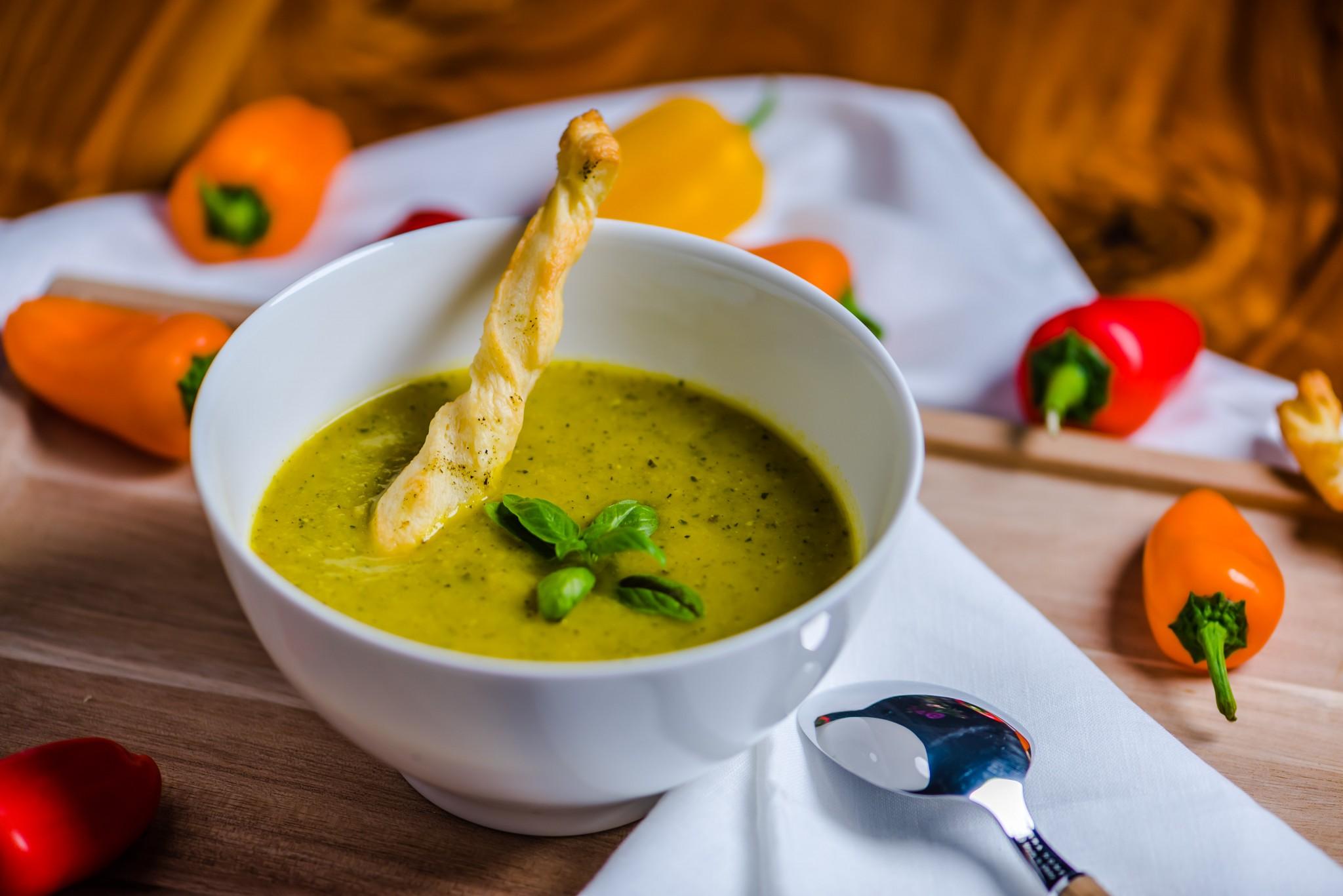 zucchinisuppe mit curry — rezepte suchen