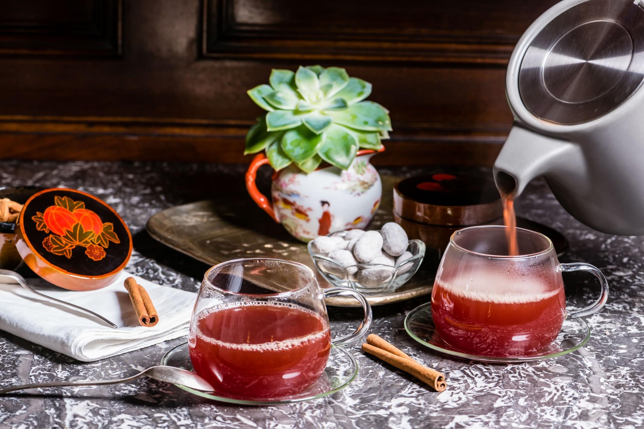 Punsch mit Orangen & Rotwein