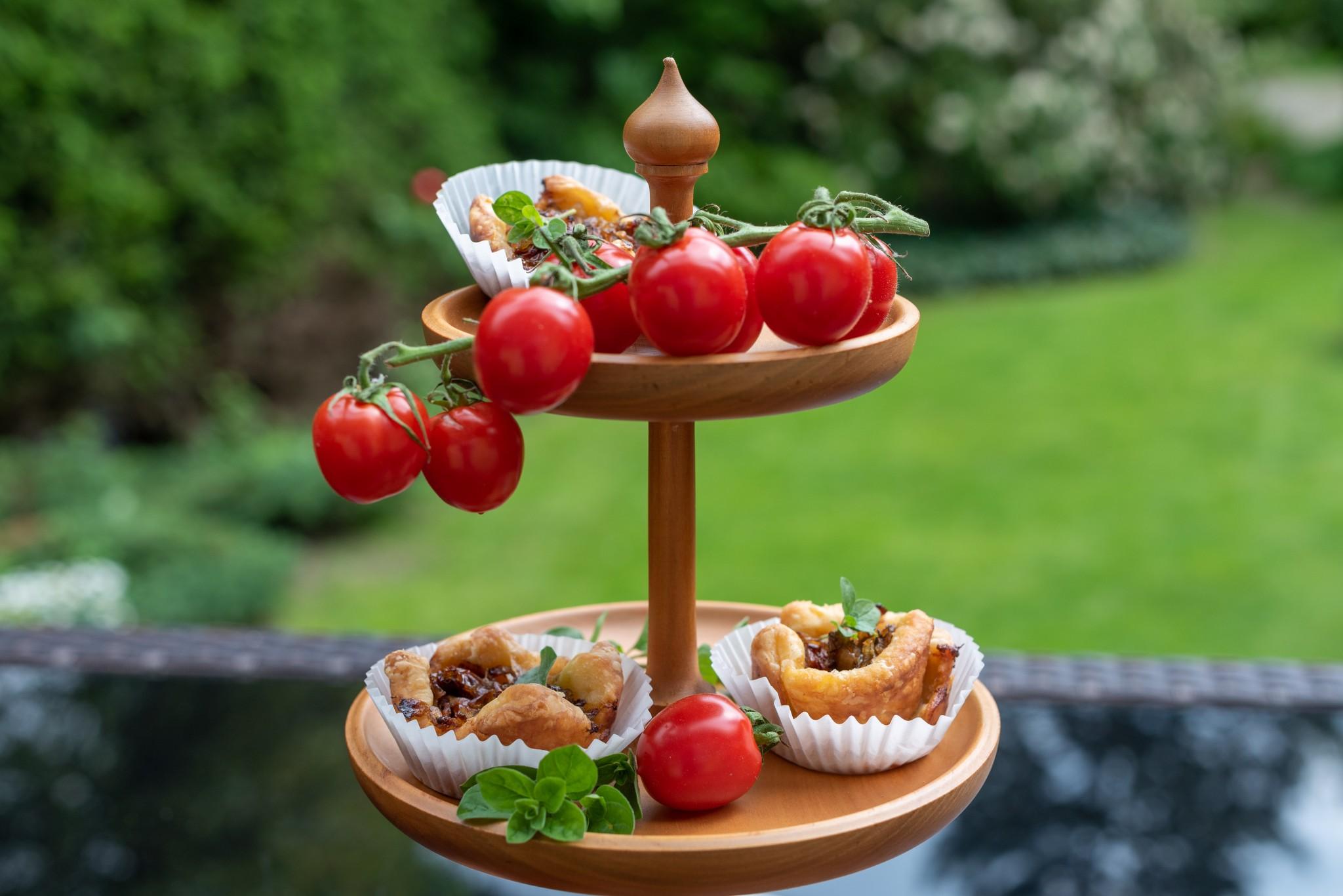 Tomaten-Tartelettes